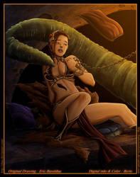 Star Wars - Slave Leia - by diabolumberto