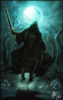 The Nazgul-Lord of the rings- by diabolumberto