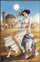 Princess Leia - R2D2 by diabolumberto