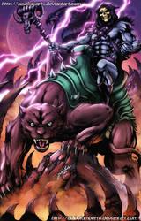 He-man - Skeletor by diabolumberto