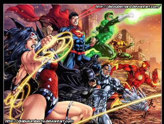 Justice League by diabolumberto