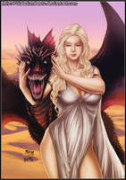 Daenerys Targaryen by diabolumberto