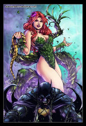 Poison Ivy - Batman by diabolumberto