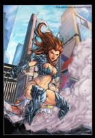 Witchblade by diabolumberto