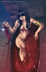 Vampirella by diabolumberto