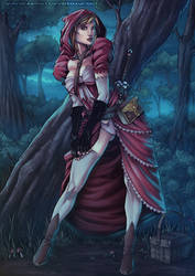 Little Red Riding Hood by diabolumberto