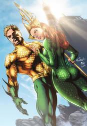 Aquaman - Mera by diabolumberto