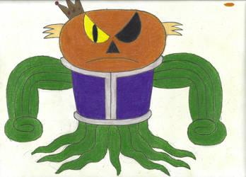 King Gordvine (colored) by horrorshowfreak