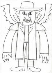Inktober Day 29: The Creeper by horrorshowfreak