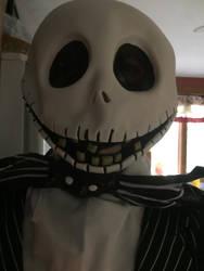 Me as Jack Skellington 2 by horrorshowfreak
