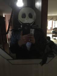 Me as Jack Skellington 1 by horrorshowfreak