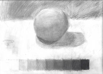 Value Scale and Shaded Sphere by horrorshowfreak