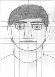Portrait Sighting Sketch by horrorshowfreak