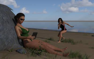 18-8-beach-sneaky-sister-mk0 by rcbcgreenpanzer