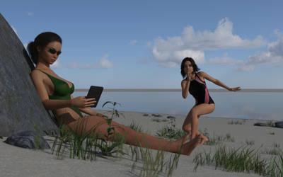 18-8-beach-sneaky-sister-mk1 by rcbcgreenpanzer