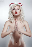 Bleeding Beauty: Saint by FlexDreams