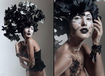 Blossom: Black by FlexDreams