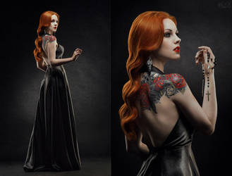 Gothic Rose by FlexDreams