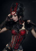 Lady Vampiria by FlexDreams