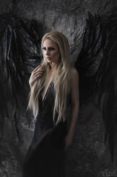 Black Angel Maria I by FlexDreams