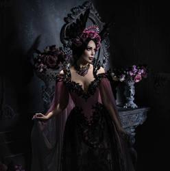Purple Roses by FlexDreams