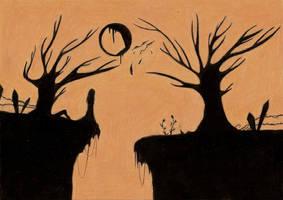 Wandering shadow by Saraty