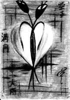 Abandoned heart by Saraty