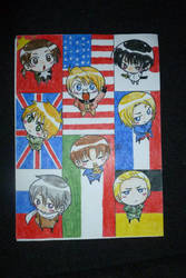 Hetalia Axis Powers chibi by Stella-cat