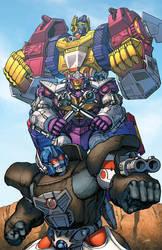 Optimus Primal by Dan-the-artguy