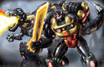 Fall of Cybertron Grimlock by Dan-the-artguy