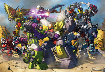 When Combiners Attack! by Dan-the-artguy