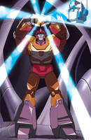 Rodimus Prime darkest hour by Dan-the-artguy