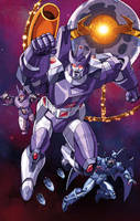 Galvatron and His Amazing Friends by Dan-the-artguy