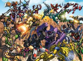 Beast Wars! by Dan-the-artguy