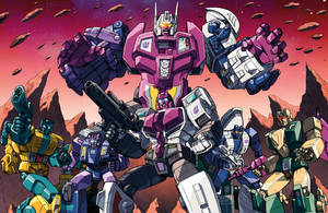 Terrorcons / Abominus teamshot by Dan-the-artguy