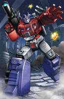 Powermaster Optimus Prime by Dan-the-artguy