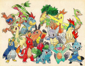 Starter Pokemon 2 by Macuarrorro