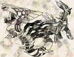 Sinnoh Legends by Macuarrorro