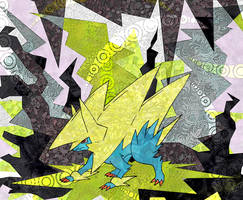 Mega Manectric by Macuarrorro