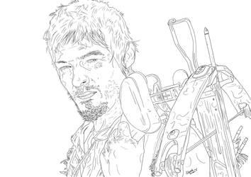 The Walking Dead - Daryl by funkydoodycool