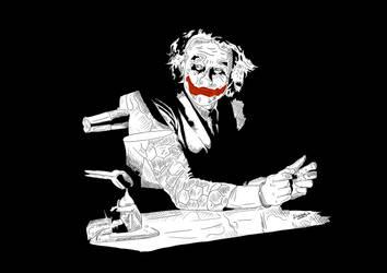 Joker by funkydoodycool
