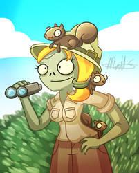 PvZ - Squirrel Herder by LWB-the-FluffyMystic