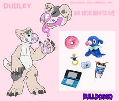 COMFORT SONA DUDLEY REF SHEET by WOODLAND-GHOUL