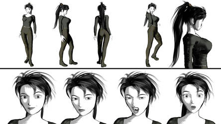 Christine Character sheet by AnubicDarque