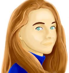 Sabrina Carpenter Fan Art by ZentokEpic