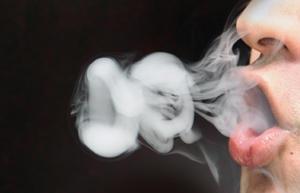 cigarette smoke ring by ksheart
