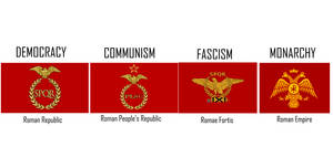 Flags of the Roman Empire by ElectricSquid7