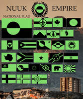 Flags in the Nuuk Empire by ElectricSquid7