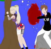 Ino's spanking by WedgieNinjaaa
