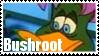 Bushroot Stamp by Names-Tailz